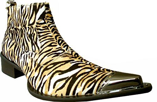 Rtb Animal Homme En Imprimé Girafe Ponyhair Tigre Chaussures Ou rwrdqx7tO