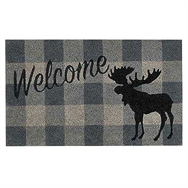 Park Designs Welcome Moose Bristle Door Mat