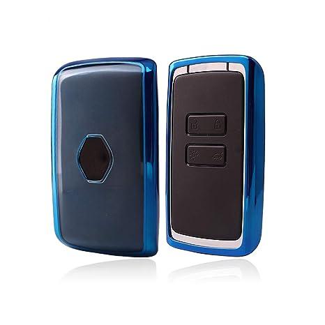 KAKTUS Renault & Dacia Funda de protección para Llave de Coche Smart Key de Renault & Dacia (Sólo versión sin Llave/versión Keyless Go)