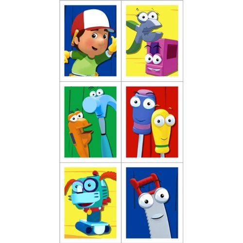 Hallmark Handy Manny Stickers - 4 sheets