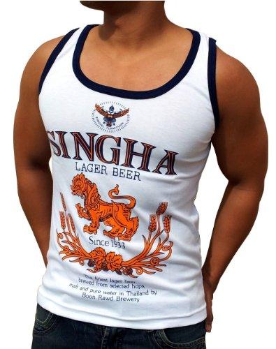 SINGHA Beer, Shirt (Tank Top / Singlet), Größen S bis XXL