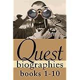 Quest Biographies Bundle — Books 1–10: Emma Albani / Emily Carr / George Grant / Jacques Plante / John Diefenbaker / John Franklin / Marshall McLuhan / ... Laurier / Nellie McClung (Quest Biography)