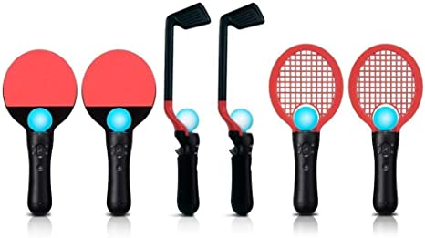 Generic 8 in 1 Competition Sports Pack Golf Tennis PingPong Compatible for Sony PS3 PS Move Game [Importación Inglesa] [PlayStation 3]: Amazon.es: Videojuegos