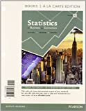 img - for Statistics for Business and Economics, Student Value Edition Plus NEW MyStatLab with Pearson eText -- Access Card Package (12th Edition) by James T. McClave (2013-05-20) book / textbook / text book