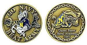 Go Navy, Beat Army Challenge Coin