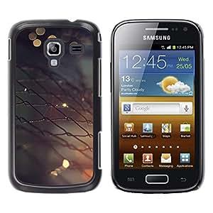 LECELL--Funda protectora / Cubierta / Piel For Samsung Galaxy Ace 2 -- Valla metálica --