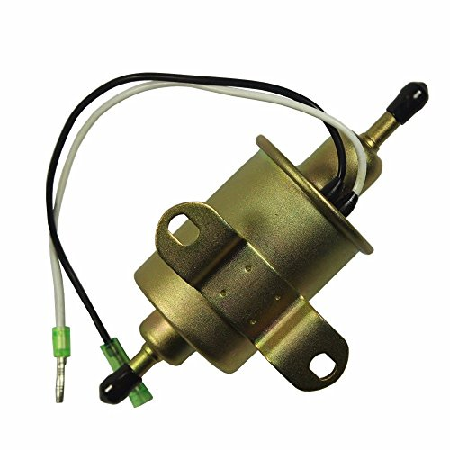 podoy 4011545 fuel pump for polaris ranger 4010658 with 2530009 small  inline fuel filter 400 500