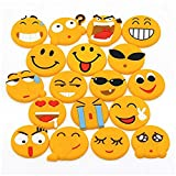 18 Pack Emoji Fridge Magnets Bloss Refrigerator Magnets Cute Magnets Whiteboard Magnets Office Magnets for Magnetic Whiteboards Dry Erase Boards Office Cabinets Kitchen
