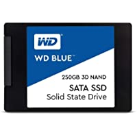 """WD Blue 250GB Internal SSD,2.5""""/7mm - WDS250G2B0A"""