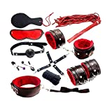 Multi Speed Bullet Vibrator Adult Game BDSM Bondage Restraints Kit Mouth Gag Handcuff Whip Collar Fetish Sex Toys Nipple Clamps Without Vibrator