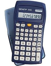 Genie 52 SC technisch-wetenschappelijke rekenmachine (136 functies, 10-cijferig display, incl. beschermdeksel) blauw