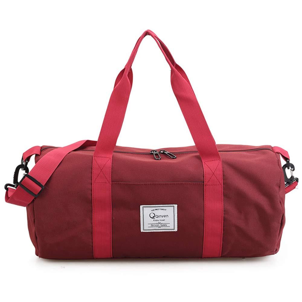 Gym Bag – Waterproof Sport Duffle Bag 19-Inch (Black)