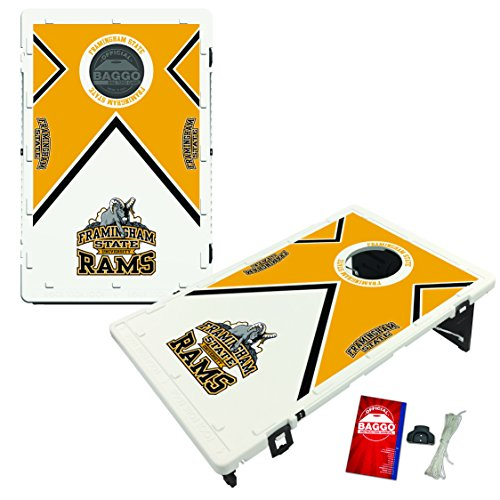 Framingham State Rams Baggo Bean Bag Toss Cornhole Game Vintage Design by Victory Tailgate