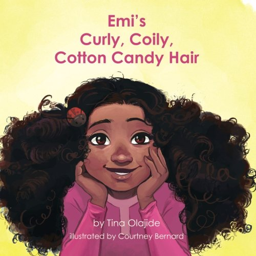 : Emi's Curly Coily, Cotton Candy Hair
