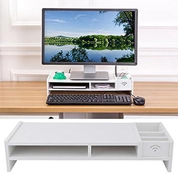 Soporte genérico D para PC con Soporte y función Atril para Ordenador portátil, Mesa,