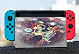 Pixie Lady Fairytale Printed Design Nintendo Switch Dock Vinyl Decal Sticker Skin by Smarter Designs