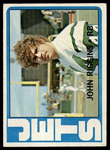 John Riggins Nfl (Football NFL 1972 Topps #13 John Riggins Excellent RC Rookie NY Jets)