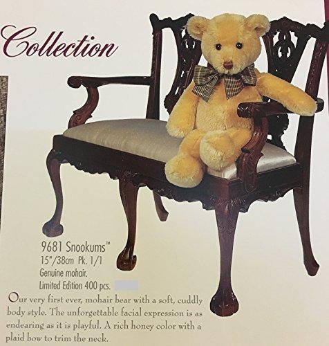 (Gund Mohair Collection Snookums 9681 Honey Color 15 Inch Mohair Bear)
