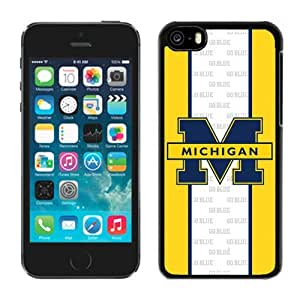 Customized Iphone 5c Case Ncaa Big Ten Conference Michigan Wolverines 19