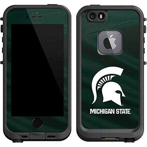 Skinit Michigan State University Away Grey Jersey LifeProof fre iPhone 6/6s Skin for CASE - Officially Licensed College Skin for Popular Cases Decal - Ultra Thin, Lightweight Vinyl Decal - Away Gray Jersey