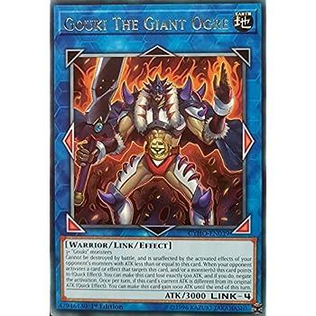 Amazon.com: Yu-Gi-Oh! - Gouki Heel Ogre - CYHO-EN038 ...