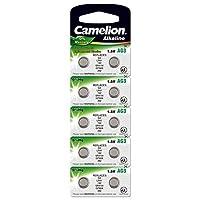 Camelion AG 3 LR 41 1.5 V Alkaline Button Cell Battery (Pack of 10)