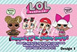 LOL Surprise Dolls Personalized Birthday Invitations More Designs Inside!