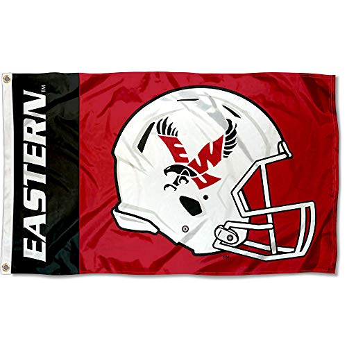 College Flags and Banners Co. Eastern Washington Eagles Football Helmet Flag