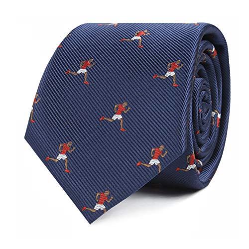 (Athlete Sports Ties | Runner Skinny Running Neckties | Sprinter Gift for Men Sprinting | Bday Gift for Guys (Athletics))
