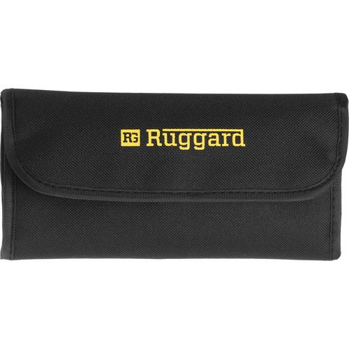 Ruggard Six Pocket Filter Pouch (Up to 82mm)(4 Pack)