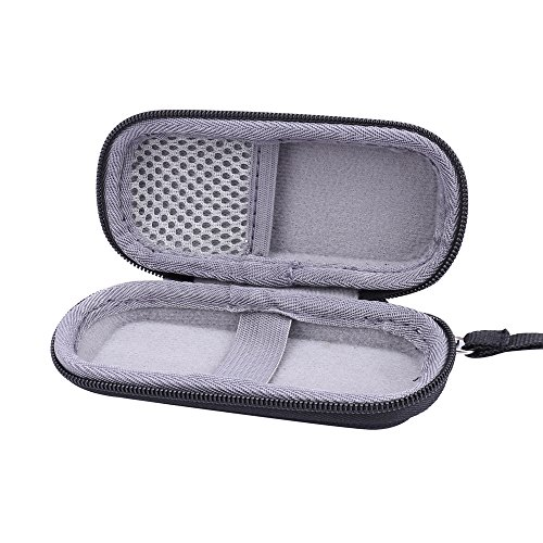 : Hard Case for Finishing Touch Flawless Women's Painless Hair Remover Razor Shaver by Aenllosi (black)