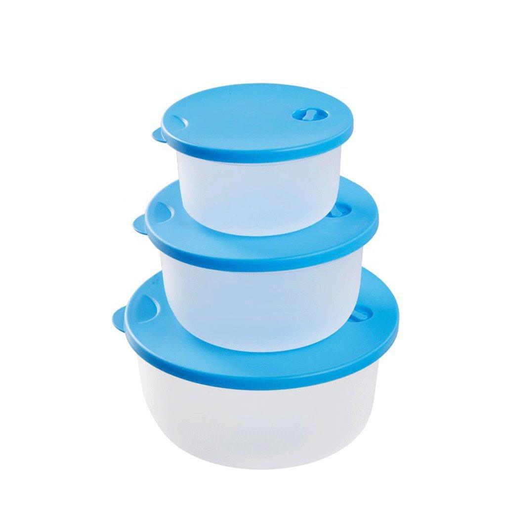 3 juegos de cubiertas redondas de microondas con plástico ...