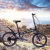 """KimBird 20"""" Folding Bike Bicycle, Anti-Slip"""