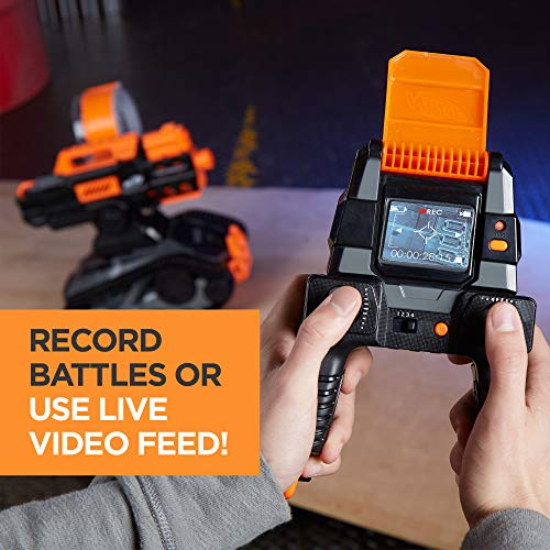 51wNVP1Ni L - TerraScout Recon Nerf Toy RC Drone N-Strike Elite Blaster with Live Video Feed 18 Official Nerf Elite Darts and Rechargeable Battery For Kids, Teens, and Adults