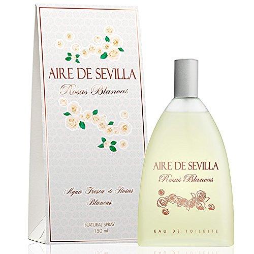 1c753b118 Aire de Sevilla Edición Rosas Blancas - Eau de Toilette 150 ml  Amazon.es   Belleza