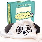 Toddler Towel with Hood | Bath Towels for Toddler Boy | Hooded Baby Bath Towel | Large Hooded Towel for Toddlers, Kids, Boys, Girls | BONUS Washcloth