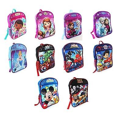 Disney Nickelodeon Marvel 15 inch Backpack