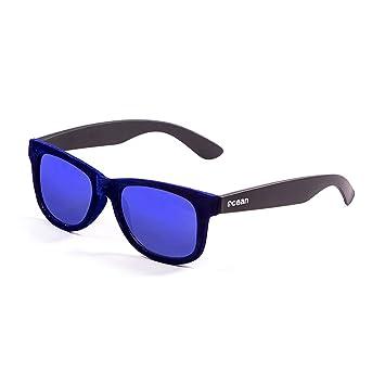 Ocean Sunglasses beach velvet - lunettes de soleil - Monture : Bleu Velours/Noir - Verres : Revo Bleu (V18202.99) yLq7AIZc
