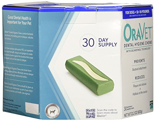Frontline Merial 30 Count Oravet Dental Hygiene Chew For