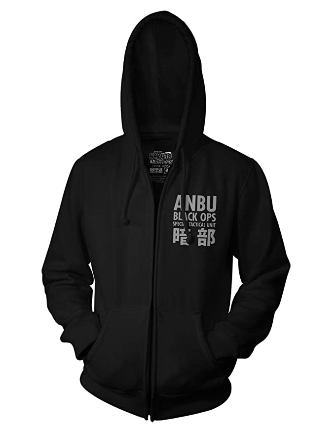 Ripple Junction Naruto - Shippuden Anbu Black OPS Adult Zip Hoodie