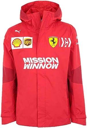 Amazon Com Puma Men S Scuderia Ferrari Team Jacket Clothing