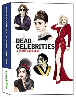 Buy Dead Celebrities: A Trump Card Game Book Online at Low