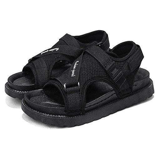 Wagsiyi Da Da Scarpe Sandali Dimensione 42 da Uomo Sandali Traspiranti spiaggia Casual Nero Uomo Nero Casual Sandali pantofole Colore EU nXFzxASqX