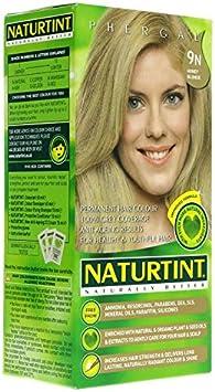 Tinte rubio miel Naturtint 9N: Amazon.es: Salud y cuidado ...