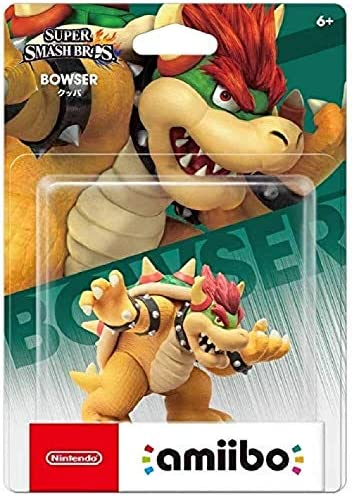 Super Smash Bros. Amiibo: Bowser-beeldje! Super Smash Bros. Series Action Figure Game Masterpiece Collectible Figure van Super Marior Japan Import (Wii U / 3DS / Switch)