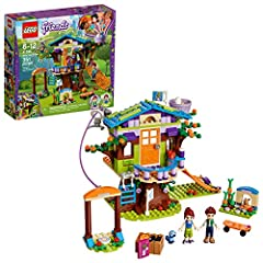 This LEGO Friends 41335 Mia's Tree House construction toy is packed with features and details to create hours of fun for Mia, her brother, and any friends who might come to visit. There's a folding ladder, scramble net and a zip wire for acce...