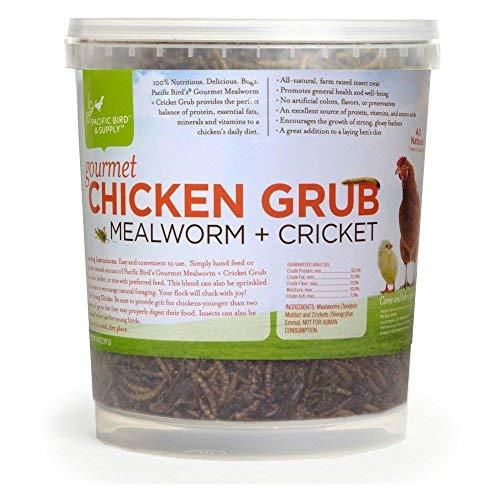 Pacific Bird & Supply Co Inc Pb-0050 14 Oz Gourmet Chicken Grub Mealworm