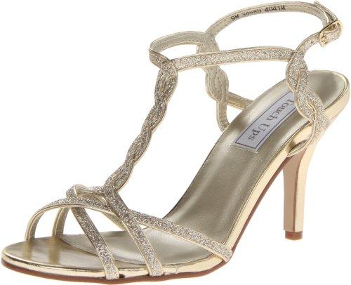 inc gold heels - 2