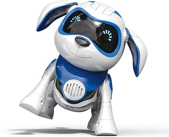 MLYWD Perro Robot para Niños Buddy Interactivo Mascota Sabe Cantar Bailar Perro Robot Perrito de Juguete y Tiene Movimiento Teledirigido, Ojos Mascota Robot Niño/Niña: Amazon.es: Deportes y aire libre