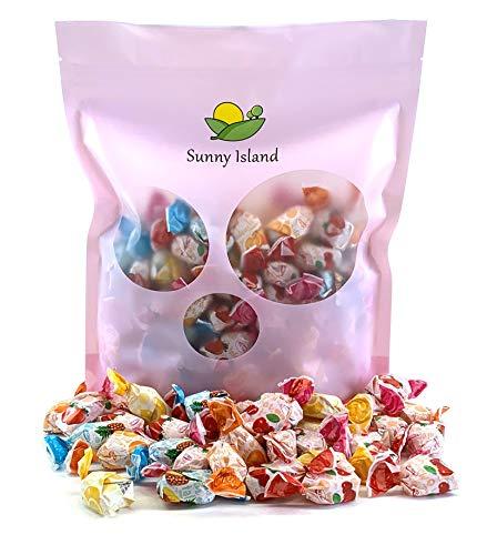 (Sunny Island Bulk - Arcor Fruit Filled Hard Candy Bon Bons, Bulk Pack Assorted Flavors Candy, 2 Pounds Bag)